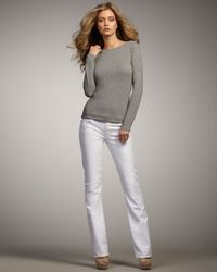 Citizens of Humanity | White Amber Santorini Mid-rise Boot-cut Jeans | Lyst