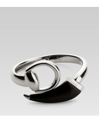 Gucci - Metallic Horsebit Bracelet for Men - Lyst