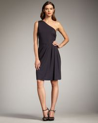 Marc By Marc Jacobs | Black Lana One-shoulder Jersey Dress | Lyst