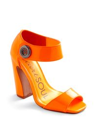 ModCloth | Girl Of My Dreams Heel in Neon Orange | Lyst