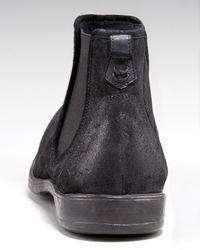 John Varvatos Black Ago Chelsea Boot for men