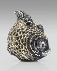 Judith Leiber | Metallic Koi Fish Clutch | Lyst