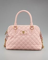 Marc Jacobs   Black Quilted Carmine Satchel   Lyst