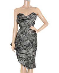 Vivienne Westwood Gold Label - Black Accent Short Dress - Lyst