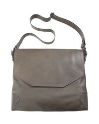 Lanvin - Gray Sartorial Messenger Bag for Men - Lyst