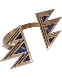 Pamela Love - Metallic Bronze Lapis Mountain Cuff - Lyst
