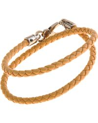 Tod's - Natural Leather Bracelet for Men - Lyst