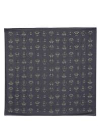 Givenchy | Blue Beetle Print Modal Cashmere Gauze Scarf for Men | Lyst