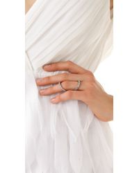 Made Her Think - Metallic Jaws Of Life Large Ring - Lyst