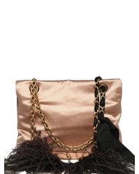 Lanvin | Metallic Happy 10 Years Alber Satin Shoulder Bag | Lyst