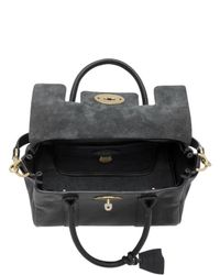 Mulberry - Black Small Bayswater Natural Leather Bag - Lyst