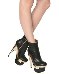 Versace | Black 160mm Leather Boots | Lyst