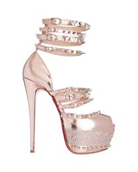 Christian Louboutin | Pink Isolde Sandals | Lyst