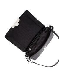 Michael Kors - Black Cynthia Small Shoulder Flap Bag - Lyst