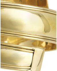 ASOS - Metallic Smooth Wraparound Adjustable Arm Cuff - Lyst