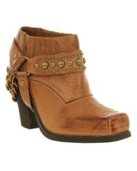 Jeffrey Campbell | Brown Gene Ankle Boots | Lyst