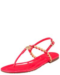 Tory Burch | Pink Aine Thong Sandal | Lyst