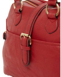 ASOS | Red Buckle Bowler | Lyst