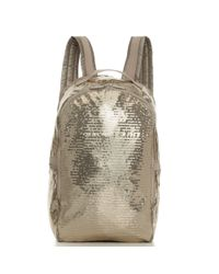 LeSportsac - Metallic Sequin Backpack - Lyst