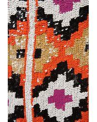 Topshop | Multicolor Premium Aztec Sequin Skirt | Lyst