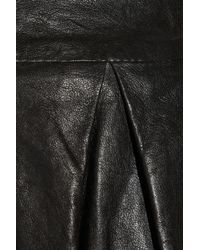 Vince   Black Low-rise Crepe Trousers   Lyst