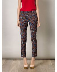 Erdem | Multicolor Connelly Trousers | Lyst