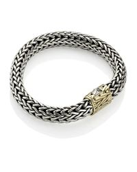 John Hardy - Metallic Classic Carved Chain Bracelet - Lyst
