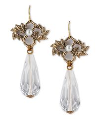 Stephen Dweck - Metallic Orchid Crystal Briolette Earrings - Lyst