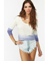 Nasty Gal - White Nasty Gal X Minkpink Dip Dyed Knit - Lyst