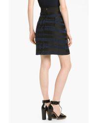 3.1 Phillip Lim   Black Jacquard Skirt   Lyst