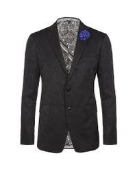 Etro | Purple Paisley Tuxedo Jacket for Men | Lyst