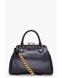 Marc Jacobs | Black Manhattan Stam Tote | Lyst