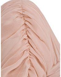 Minuet Petite - Pink Peach Silk Beaded Vintage Dress - Lyst