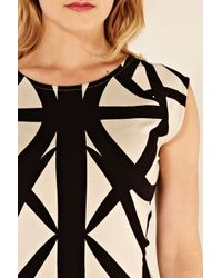 Oasis | Natural Tribal Bodycon Dress | Lyst