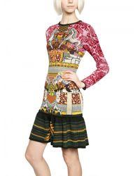 Mary Katrantzou   Multicolor Intarsia Knitted Dress   Lyst