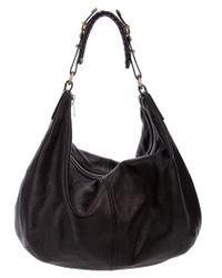 Alexander McQueen | Black Slouchy Shoulder Bag | Lyst