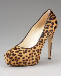 Brian Atwood | Multicolor Leopard-print Platform Pump | Lyst
