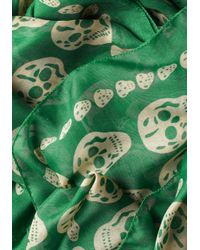 ModCloth | Green Grin and Wear It Scarf | Lyst