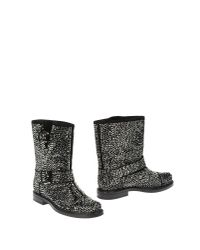 Casadei | Black Ankle Boots | Lyst