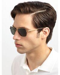 Mosley Tribes - Metallic Cayton Metal Sunglasses for Men - Lyst