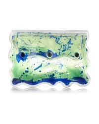 Christopher Kane - Blue Aqua Gel-filled Pvc Clutch - Lyst