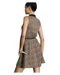 H&M - White V-neck Dress - Lyst