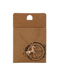 TOPSHOP | Metallic Horse Ditsy Necklace | Lyst