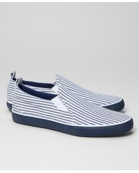 b38abfaf18c Lyst - Brooks Brothers Seersucker Keds For Brooks Brothers in Blue ...