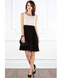 Coast | Black Coast Roberta Dress Mono | Lyst