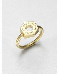 Marc By Marc Jacobs - Metallic Bolt Ring - Lyst