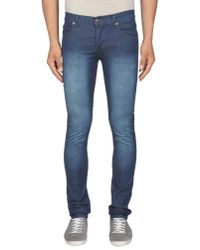 Cheap Monday | Blue Denim Pants for Men | Lyst