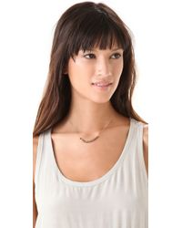 Ginette NY - Metallic Fools Gold Short Boulier Necklace - Lyst