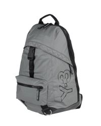 Y-3 - Gray Ruck Sack for Men - Lyst