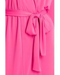 Natori | Pink Aphrodite Short Robe | Lyst